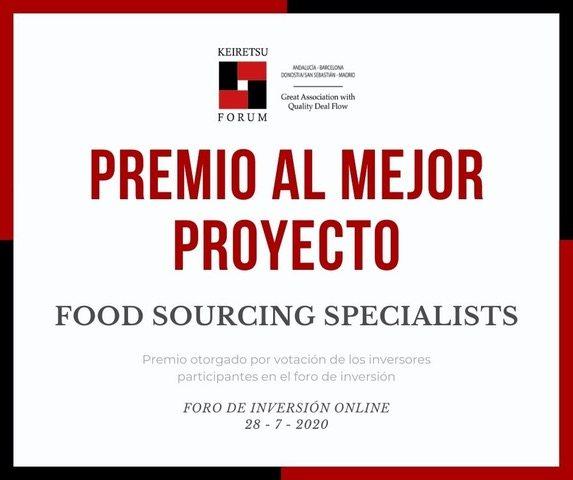 PREMIO AL MEJOR PROYECTO DEL FORO ONLINE DE INVERSORES KEIRETSU FORUM